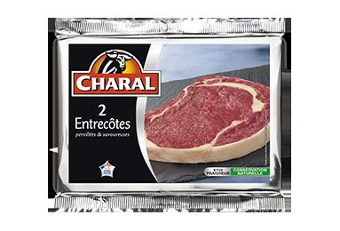 Entrecôte de bœuf : Temps de cuisson, Infos Nutrition, Calorie - charal.fr