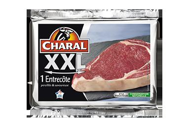 Entrecôte de bœuf XXL : Temps de cuisson, Infos Nutrition, Calorie - charal.fr