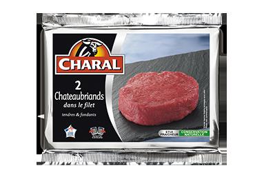 Filet Chateaubriand pièce de viande de bœuf, cuisson à la poêle - charal.fr