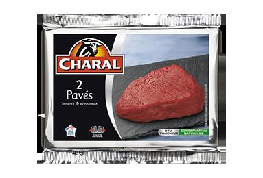 Pavé de bœuf, cuisson à la poêle - charal.fr