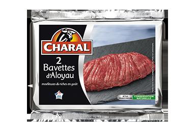 Bavette d'aloyau pur bœuf à griller : Temps de cuisson, Infos Nutrition - charal.fr
