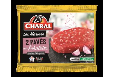 Pavés de bœuf marinés à l'échalote, cuisson à la poêle - charal.fr