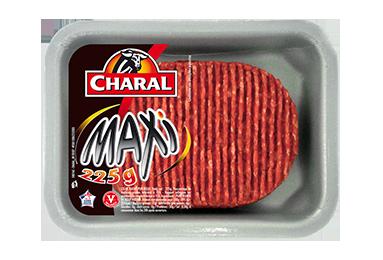 Steak haché pur bœuf Maxi 225g à griller 15% MG : Infos Nutrition - charal.fr
