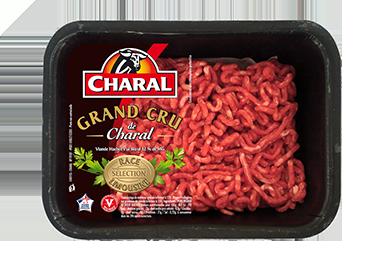 Viande hachée pur bœuf Grand Cru à cuisiner | Race limousine - charal.fr