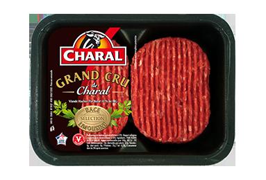 Steak haché 100% pur bœuf Grand Cru à griller | Race Limousine - charal.fr
