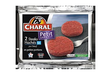 Steak haché pur bœuf 80g à griller 5% MG : Infos Nutrition - charal.fr
