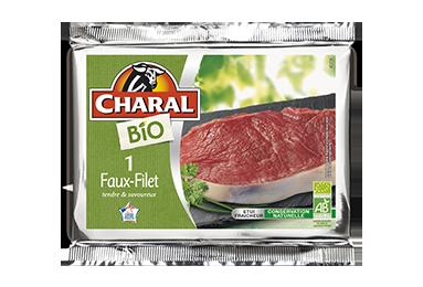 Faux-Filet de bœuf BIO à griller | Cuisson à la poêle - charal.fr