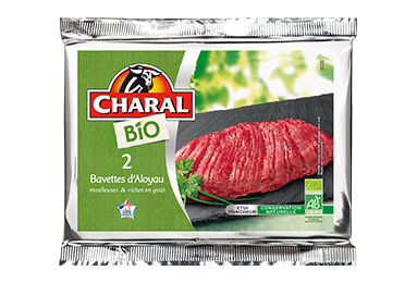 Bavette d'aloyau de bœuf BIO à griller - charal.fr