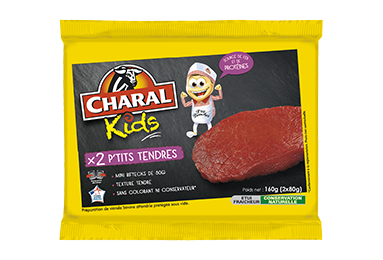 P'tits Tendres - Nos kids - charal.fr