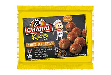 P'tites Boulettes Et Sauce Aux Tomates Cuisinées - Nos kids - charal.fr