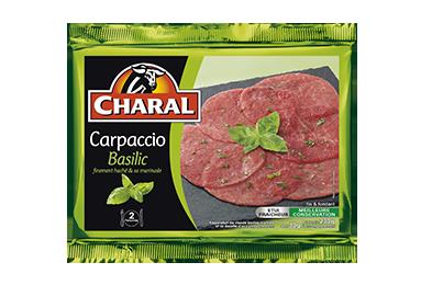 Carpaccio Basilic - Nos carpaccios - charal.fr