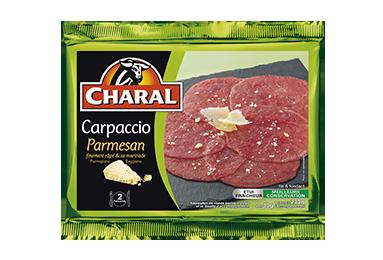 Carpaccio Parmesan - Nos carpaccios - charal.fr
