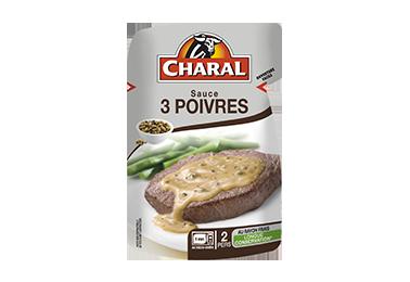 Sauce 3 Poivres - Nos sauces et marinades - Classique - charal.fr