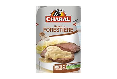Sauce Forestière aux champignons pour viandes grillées à réchauffer - charal.fr