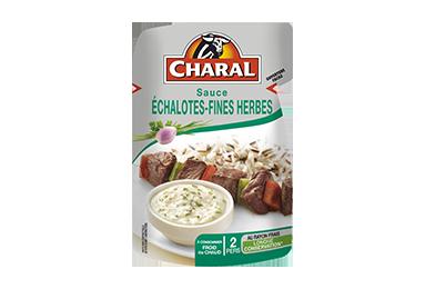 Sauce Échalotes-Fines Herbes pour viandes grillées à réchauffer - charal.fr