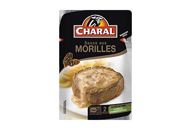 Sauce aux Morilles pour viandes grillées à réchauffer - charal.fr