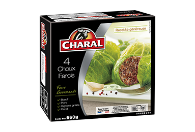 Choux Farcis Surgelés - Nos farcis - charal.fr