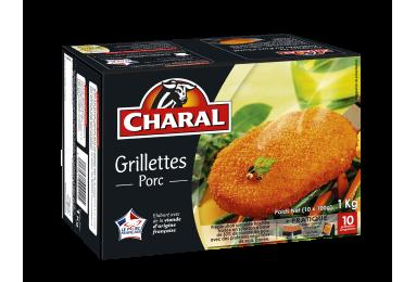 Grillettes Au Porc Surgelées - Nos panés - charal.fr