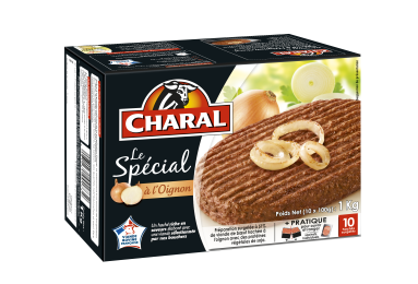 Le Spécial à l'oignon surgelé - charal.fr