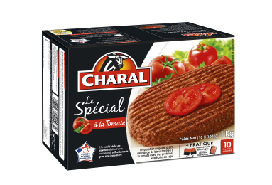 Le Spécial à La Tomate Surgelé - Nos hachés à griller - Saveurs - charal.fr