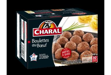 Boulettes au bœuf surgelées à cuisiner - charal.fr