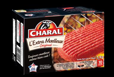 L'extra Moelleux Surgelé - Nos hachés à griller - Classique - charal.fr