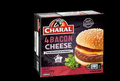 Baconcheese Surgelé - Nos burgers - charal.fr