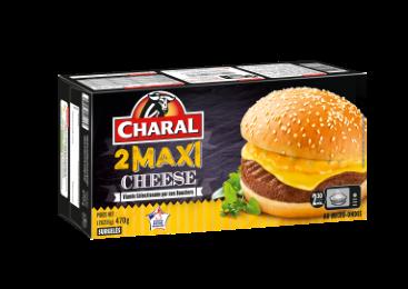 Burger Maxi Cheese Surgelé - Nos burgers - charal.fr