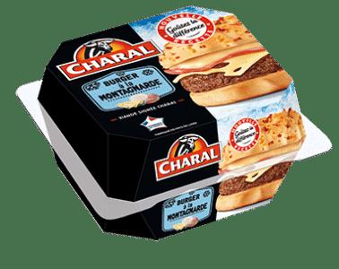 Burger à la Montagnarde au bœuf, à réchauffer au micro-ondes - charal.fr