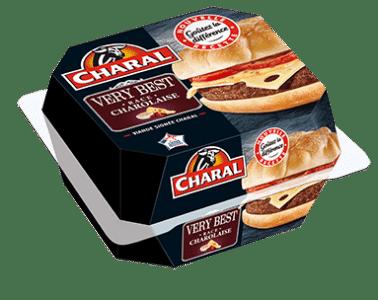 Very Best Burger au bœuf à réchauffer au micro-ondes - charal.fr