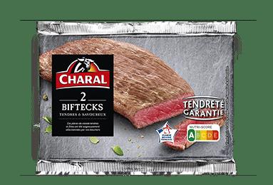 Bifteck tendre de viande bovine à griller, cuisson à la poêle - charal.fr