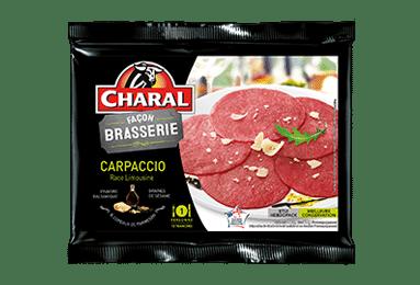 Carpaccio de bœuf Façon Brasserie | Race Limousine - charal.fr