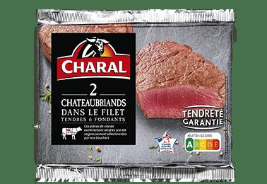 Filet Chateaubriand, viande de boeuf, cuisson à la poêle