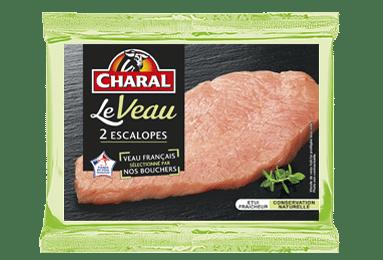 Escalope de veau, cuisson à la poêle - charal.fr