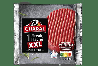 Steak haché pur boeuf XXL 180g à griller - charal.fr