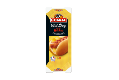 Hot Dog Ketchup - Nos hot dogs - charal.fr