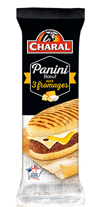 Panini Bœuf Saveur 3 fromages - charal.fr