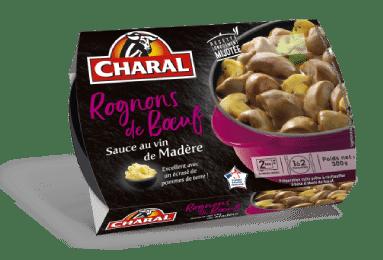 Rognons de bœuf sauce madère à réchauffer - charal.fr