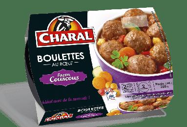 Boulettes au bœuf façon Couscous à réchauffer - charal.fr