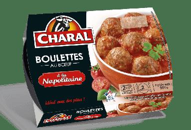 Boulettes au bœuf sauce napolitaine, à réchauffer - charal.fr