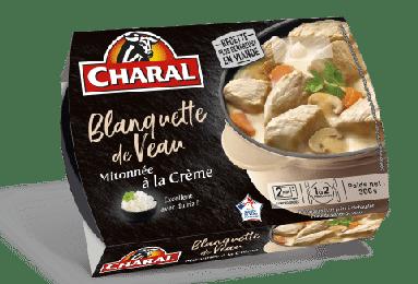 Blanquette de veau traditionnelle mitonnée à la crème à réchauffer - charal.fr