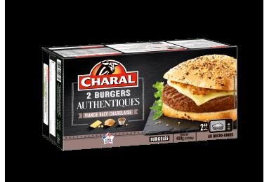 Burger Authentique au bœuf à réchauffer au micro-ondes - charal.fr