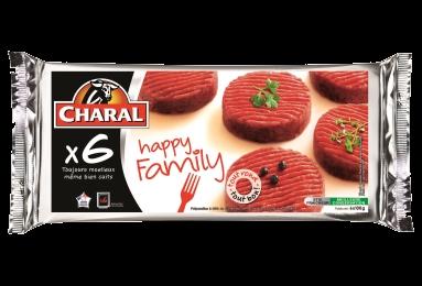 Hachés au bœuf Happy Family, cuisson à la poêle - charal.fr
