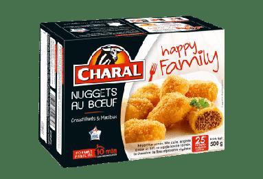 Nuggets au bœuf surgelés - charal.fr