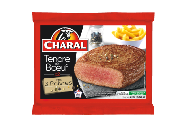 Tendre De Bœuf Aux 3 Poivres - Le tendre de boeuf - charal.fr