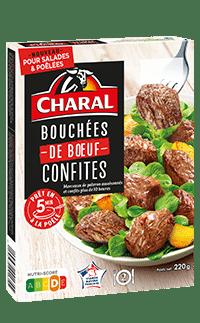 Tartare de bœuf BIO 5% MG avec sa sauce, prêt à déguster - charal.fr