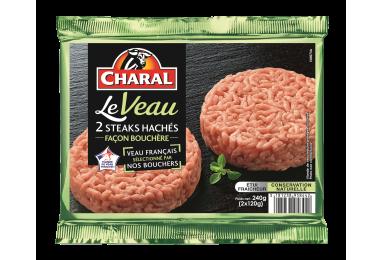 Steak haché de veau façon bouchère : Temps de cuisson, Infos Nutrition - charal.fr