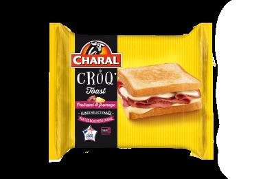 Le Croq'toast - Nos toastés - charal.fr