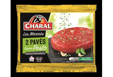 Pavés de bœuf façon pesto, cuisson à la poêle - charal.fr