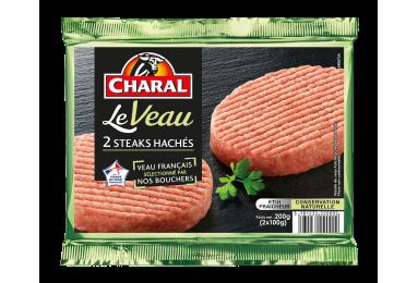 Steak haché de veau : Temps de cuisson, Infos Nutrition, Calorie - charal.fr